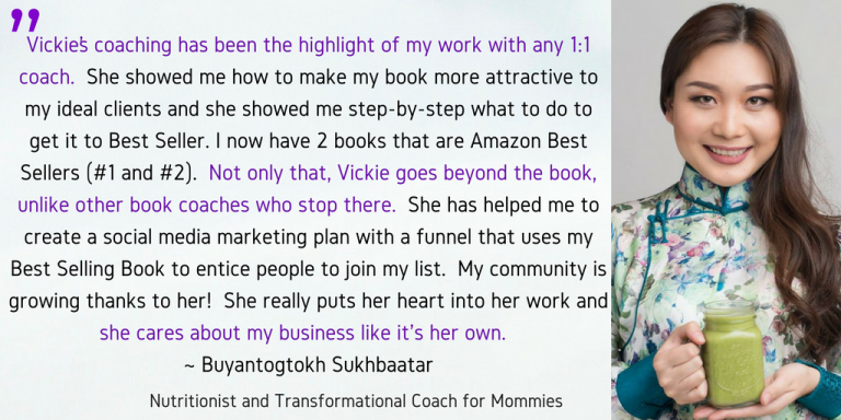 Buyanaa book testimonial amazon