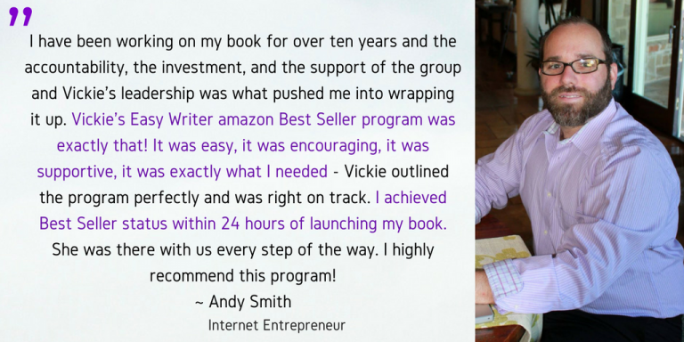 easy writer andy testimonial